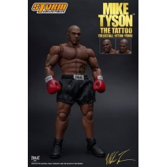 MIKE TYSON 'THE TATTOO' 1/12 SCALE PRE-PAINTED ACTION FIGURE Storm Collectibles