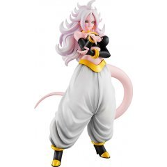 DRAGON BALL GALS DRAGON BALL FIGHTERZ PRE-PAINTED PVC FIGURE: ANDROID 21 TRANSFORMED VER. Mega House