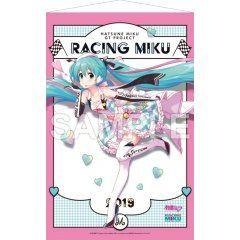 HATSUNE MIKU GT PROJECT WALL SCROLL 2: HATSUNE MIKU RACING VER. 2019 Gift