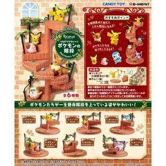 POKEMONTSUNAGETE KAWAII! POKEMON'S STEPS (SET OF 6 PIECES) Re-ment