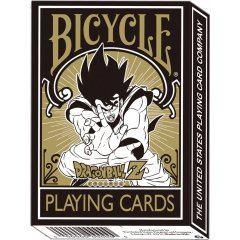 DRAGON BALL Z PLAYING CARD BICYCLE Brujula