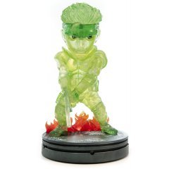 METAL GEAR SOLID PVC PAINTED STATUE: SOLID SNAKE STEALTH CAMOUFLAGE NEON GREEN STANDARD EDITION First4Figures