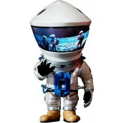 DEFOREAL 2001 A SPACE ODYSSEY: DISCOVERY ASTRONAUT SILVER SPACE SUIT VER. Star Ace Toys