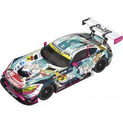 HATSUNE MIKU GT PROJECT 1/43 SCALE MINIATURE CAR: GOOD SMILE HATSUNE MIKU AMG 2018 FINAL RACE VER. Good Smile Racing