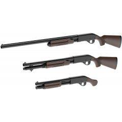 LITTLE ARMORY 1/12 SCALE MODEL KIT: M870 TYPE HARD WOOD Tomytec