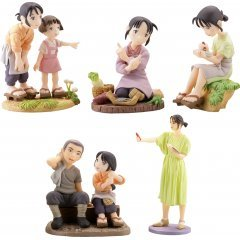 MINIQ IN THIS CORNER (AND OTHER CORNERS) OF THE WORLD VIGNETTE COLLECTION (SET OF 8 PIECES) Kaiyodo