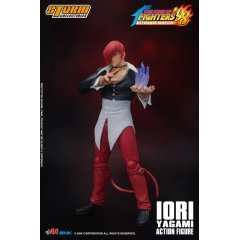 THE KING OF FIGHTERS '98 ULTIMATE MATCH 1/12 SCALE PRE-PAINTED ACTION FIGURE: IORI YAGAMI Storm Collectibles