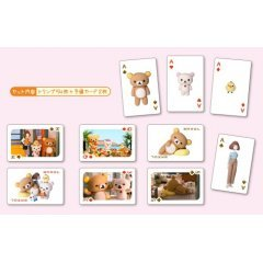 RILAKKUMA AND KAORU PLAYING CARDS Ensky