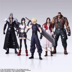 FINAL FANTASY VII REMAKE TRADING ARTS (SET OF 5 PIECES) Square Enix