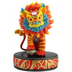 KING OF LION DANCE SOFT VINLY FIGURE Trouble Bros.