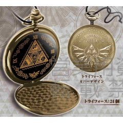 THE LEGEND OF ZELDA POCKET WATCH (TRIFORCE COVER DESIGN) Taito