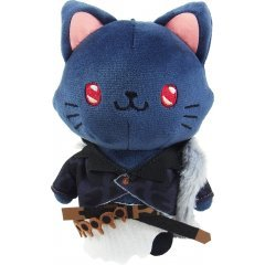 GRANBLUE FANTASY WITH CAT PLUSH KEYCHAIN WITH EYE MASK: BELIAL Movic