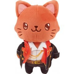 GRANBLUE FANTASY WITH CAT PLUSH KEYCHAIN WITH EYE MASK: PERCIVAL Movic