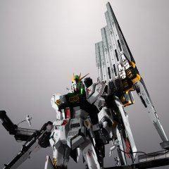 METAL STRUCTURE KAITAISHOUKI MOBILE SUIT GUNDAM CHAR'S COUNTERATTACK: RX-93 NU GUNDAM OPTIONAL PARTS FIN FUNNEL Tamashii (Bandai Toys)