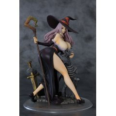 DRAGON'S CROWN 1/7 SCALE PRE-PAINTED FIGURE: SORCERESS DARKNESS CROW VER. Orchid Seed
