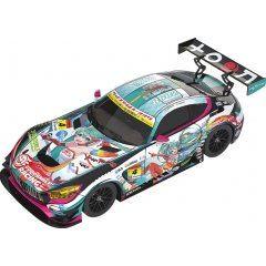 HATSUNE MIKU GT PROJECT 1/64 SCALE MINIATURE CAR: GOOD SMILE HATSUNE MIKU AMG 2016 SUPER GT VER. Good Smile Racing