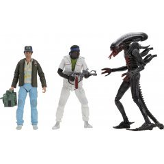 ALIEN 7'' SCALE ACTION FIGURE: 40TH ANNIVERSARY ASSORTMENT 2 (SET OF 3 PIECES) NECA