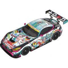 HATSUNE MIKU GT PROJECT 1/18 SCALE MINIATURE CAR: GOOD SMILE HATSUNE MIKU AMG 2016 SUPER GT VER. Good Smile Racing