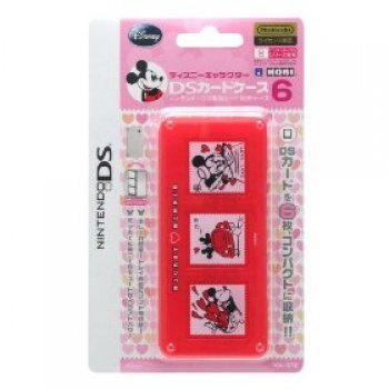 Disney Character DS Card Case 6 (Mickey & Minnie) (Nintendo DS, Nintendo DS Lite, N...)