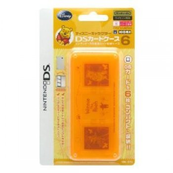 Disney Character DS Card Case 6 (Winnie the Pooh) (Nintendo DS, Nintendo DS Lite, N...)