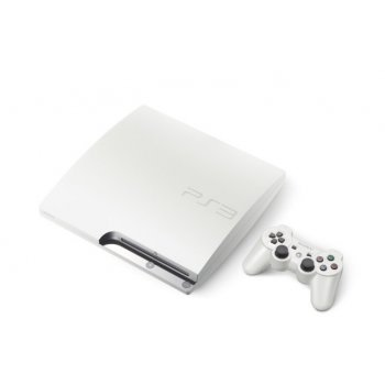PlayStation3 Slim Console (HDD 160GB Classic White