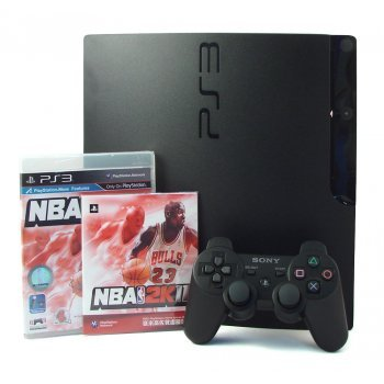 PlayStation3 Slim Console - NBA 2k11 Value Pack (H