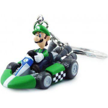 Banpresto Mario Kart Wii Vol2 Key Chain Toy Luigi