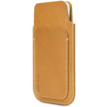 incase leather pouch for iphone 5c 5s browntan 367153