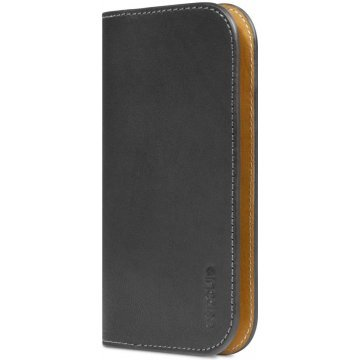incase leather pouch wallet for 5c 5s blacktan 367155
