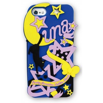 gourmandise sailor moon iphone55s silicon jacket luna slm15b 368335