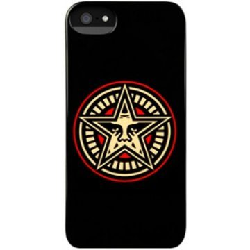 incase shepard fairey snap case for iphone 5 star gear 392349