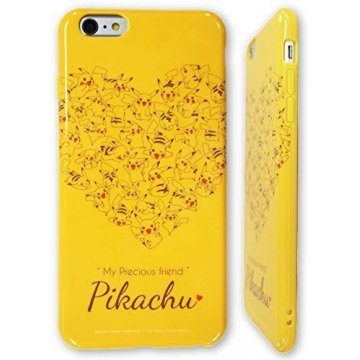 gourmandise pokemon iphone 6 plus soft jacket pikachu heart poke 398383