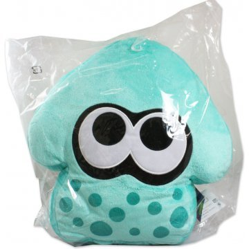 Splatoon Plush Turquoise Splatoon Squid Cushion Re Run