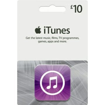 iTunes Card (GBP 10 / for UK accounts only) digital