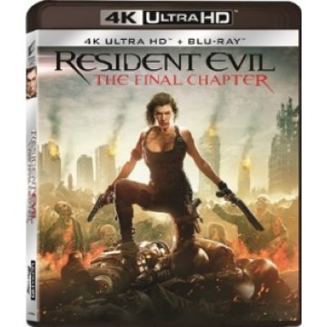 Resident evil the final chapter 4k uhd bd 2 disc - Resident evil final chapter 4k ...