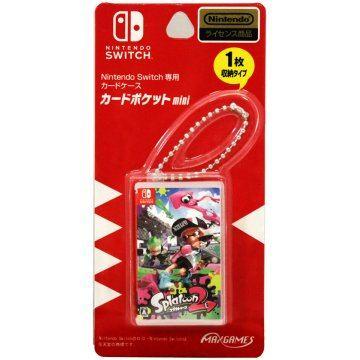 Splatoon 2 Mini Card Pocket for Nintendo Switch