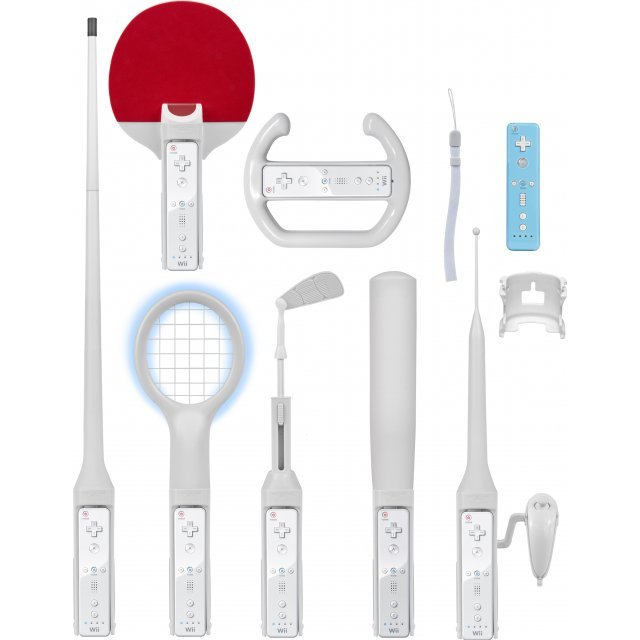 CTA Digital 9-in 1 Sports Kit for Wii