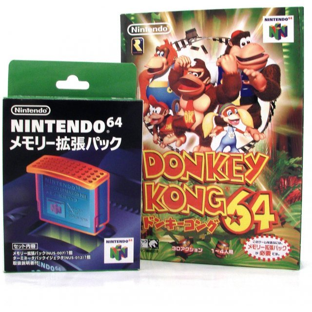 Games Donkey Kong 64 With Expansion Pak