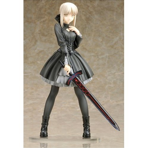 Fate/Hollow Ataraxia 1/8 Scale Pre-painted PVC Figure - Saber (black dress version)