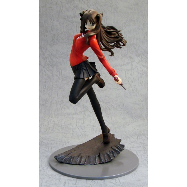 Fate/Stay Night 1/7 Scale Pre-Painted PVC Figure: Rin Tohsaka