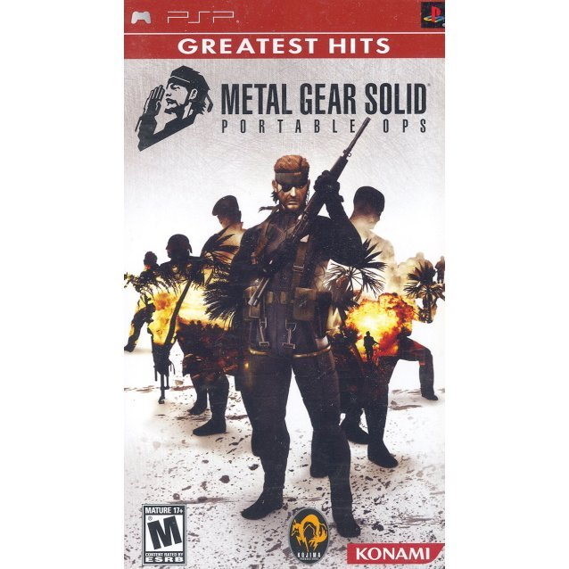 Metal Gear Solid Portable Ops (Greatest Hits)