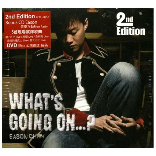 What's Going On...? [CD+DVD]