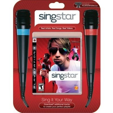 SingStar Bundle (w/ 2 Microphones)