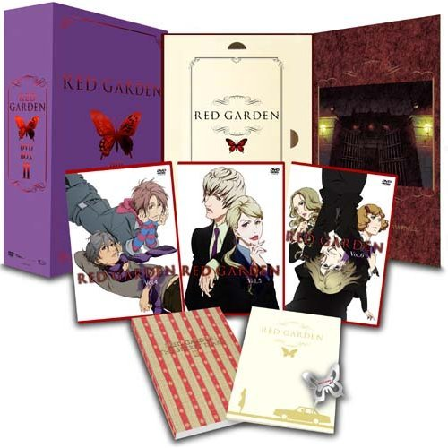 Red Garden DVD Box 2 [Limited Edition]