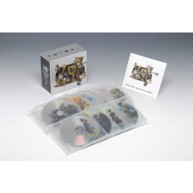 Kingdom Hearts Original Soundtrack Complete Box