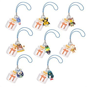 Animal Crossing Character Bottle Phone Strap Gashapon (Theater Version)