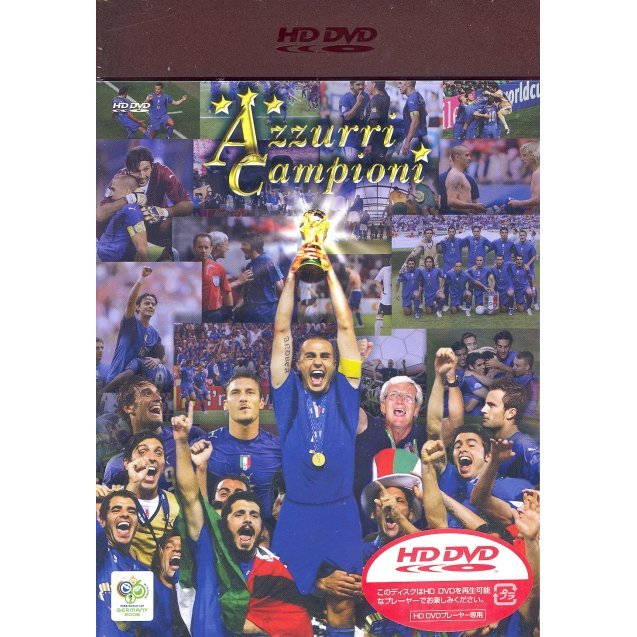 2006 Fifa World Cup Germany Official License HD DVD Italy Daihyo Champion E No Kiseki