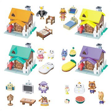 Animal Crossing Houses, Figures or Accessories Gashapon (Theater Version)