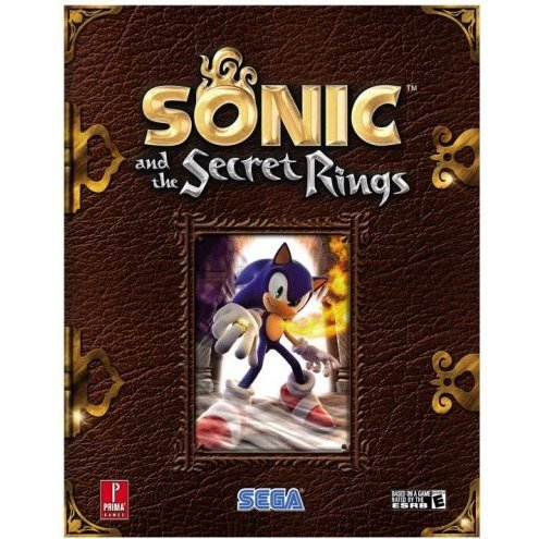 Sonic and the Secret Rings Prima Official Game Guide