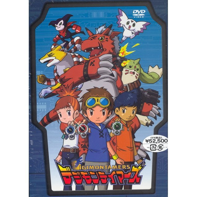 Digimon Tamers DVD Box